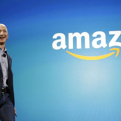FILE - In this June 16, 2014 file photo, Amazon CEO