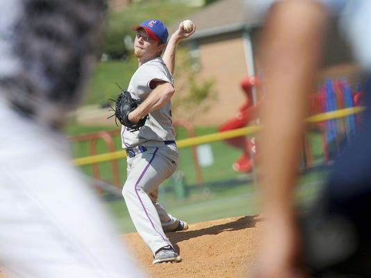 Randy Stewart earned the complete-game victory during Conrads' 3-2 playoff victory over East Prospect Saturday.