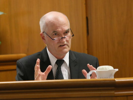 Michael Caldwell testifies for the defense on the mental state of Anissa Weier at the time of the Slender Man stabbing.