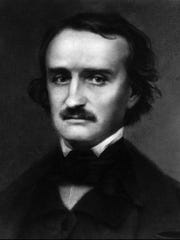 Edgar Allen Poe was the Jim Morrison of the day, a hard liver who died young and was still red-hot 27 years later. Riley aped him convincingly.