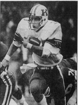 Former UK player and Paintsville High School graduate Tony Mayes was profiled in the Oct. 26, 1983 edition of the Courier-Journal.