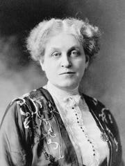 Suffragist Carrie Chapman Catt, who led the National