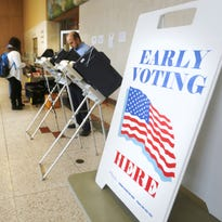 Early voting stations will be up Tuesday in Purdue University's Stewart Center.