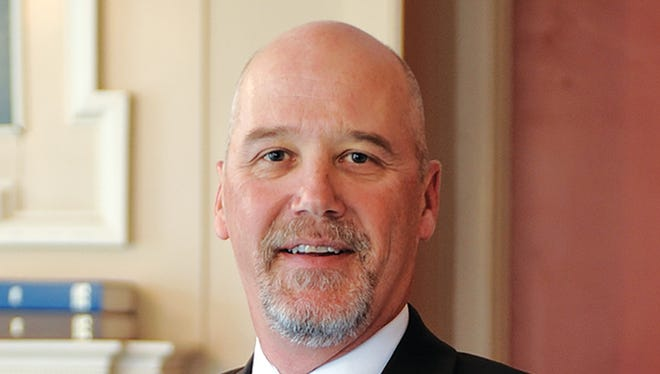 Olivet College President Steven M. Corey