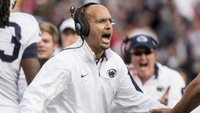 James Franklin's rebuilding process at Penn State may still look ugly on the field. His high-level recruiting is the key.