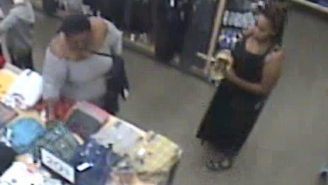 Lebanon police are working to identify these two women they say shoplifted Sept. 27, 2016.