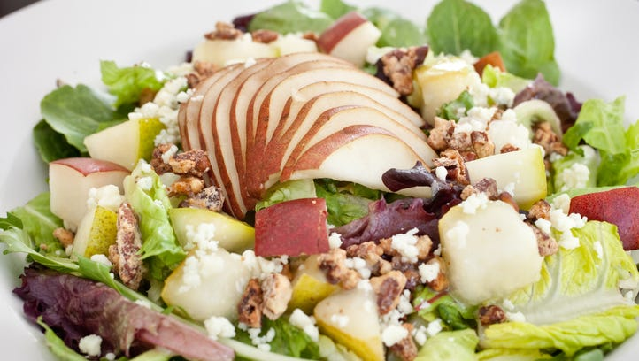 Pear salad at The Stockyards restaurant in Phoenix.