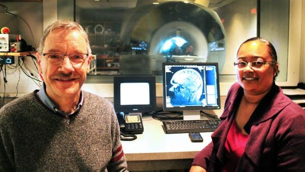 Indiana University researchers Brian O'Donnell and Sharlene Newman are studying the impact of marijuana on the brain.