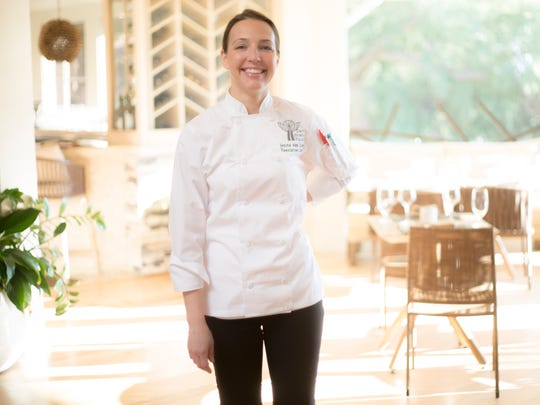 Chef Jenna van Loon has been at Essense at Two Bunch Palms Resort since September 2016.