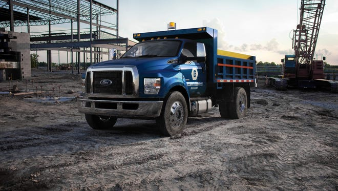 Ford creates a new look for its 2016 Ford F-650 and F-750