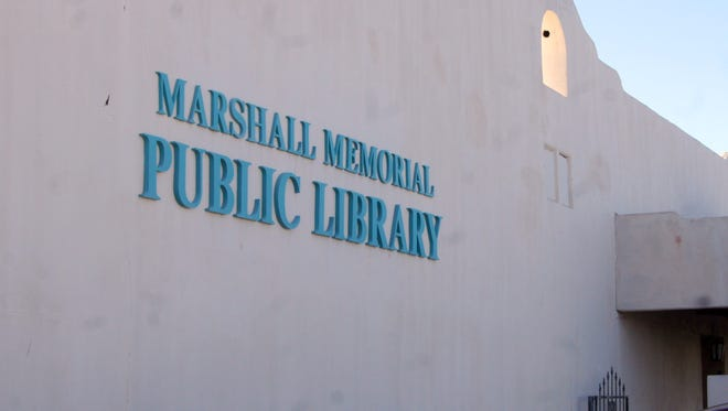 The city-run Marshall Memorial Library could be affected by budget cuts.
