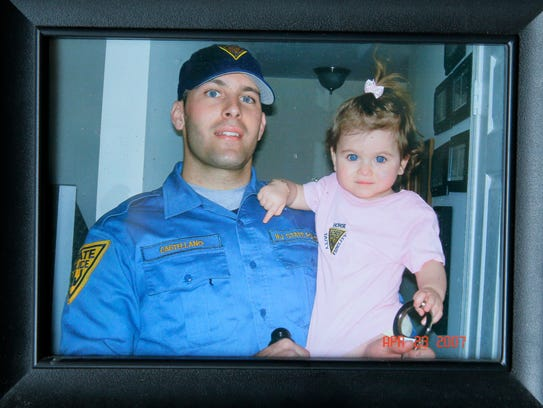 Donna Setaro, the mother of New Jersey State Police