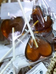 In addition to maple candy, the PA Maple Syrup Producers