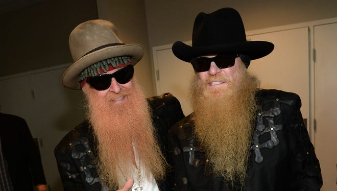 ZZ Top's Billy Gibbons, left, and Dusty Hill, who suffered a hip injury Tuesday night, hope to reschedule dates with Jeff Beck that were scrapped.