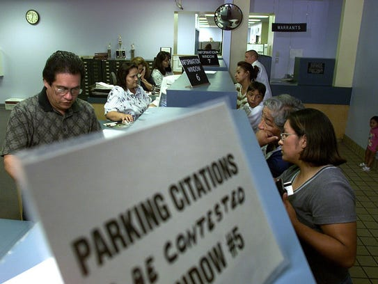 Employees of the El Paso Municipal Court are kept busy