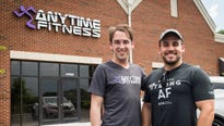 Matt Sigmon and Jonathan Ward, brothers born two years apart to the day, are opening an Anytime Fitness franchise in Hardin Valley.