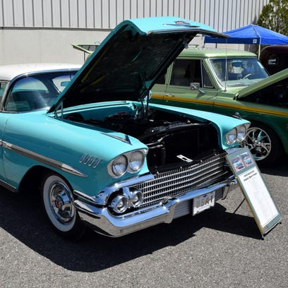 An Array Of Chevrolet Cars And Trucks Such As This 1958