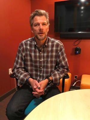 Jim Biggs, executive director of the Knoxville Entrepreneur Center