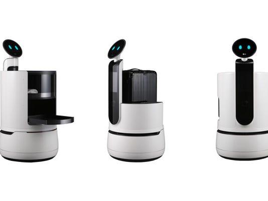 LG Electronics USA -Concept Robots