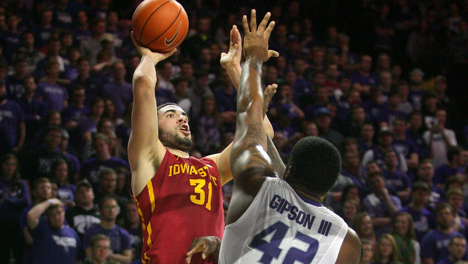 Iowa State Cyclones forward Georges Niang (31) shoots