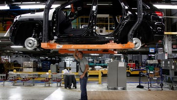 The auto sector has been a bright spot for manufacturing. The Commerce Department released its second estimate of first-quarter GDP growth Friday.