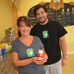 Donna and Joey Flandreau opened Surfer Joe's Tropical Ice in August