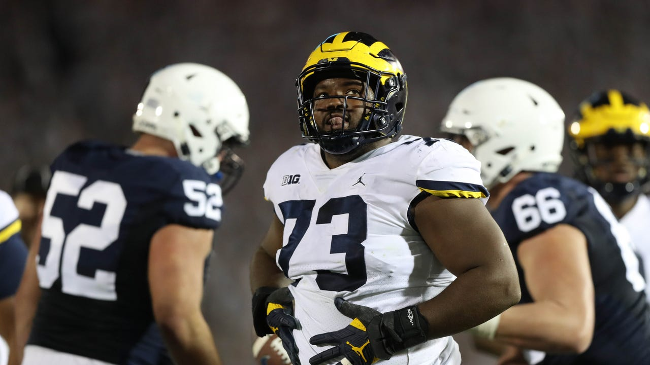 Michigan senior defensive lineman Maurice Hurst says he's not sure if he'll play in the Outback Bowl on New Year's Day against South Carolina.