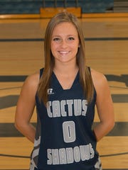 Corinne Querrey, from Cactus Shadows High School, is azcentral sports' Female Athlete of the Week for Nov. 19-26.