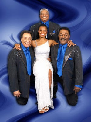 Monroe Powell's Salute to the  Platters featuring Powell, Kenni Jaye,Genevieve Dew and Don Gloudé will perform as part of the Arvest Concert Series at ASUMH April 21.