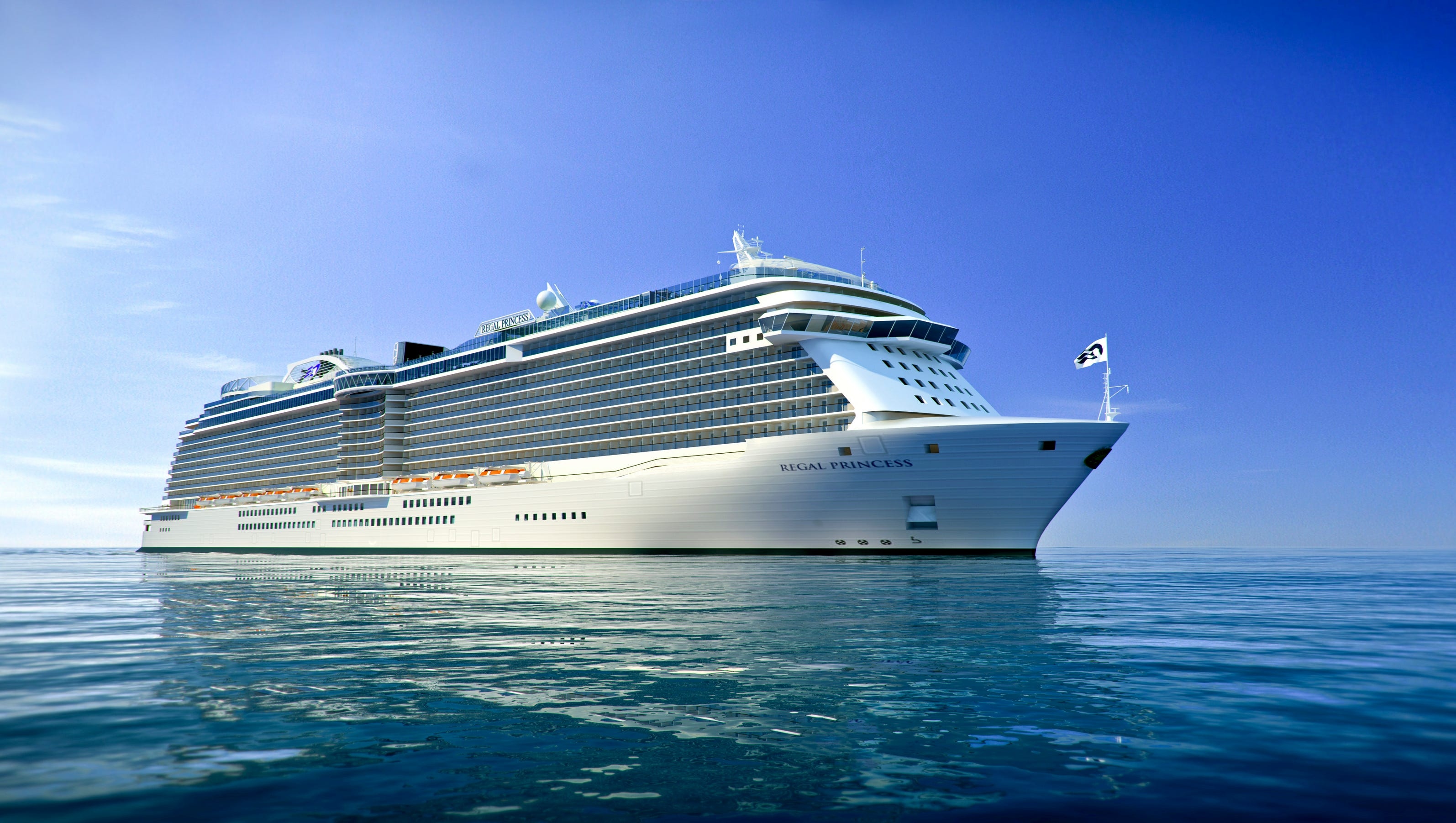New cruise ships for 2014: Regal Princess