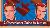 """Comedians Kirk Smith and Graham Kay talk about their experiences of having a family member who has autism in the podcast """"Autastic: A Comedians Guide to Autism."""""""