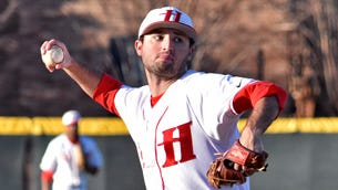 Huntingdon's Zach McGrady starred in his final home game Tuesday.