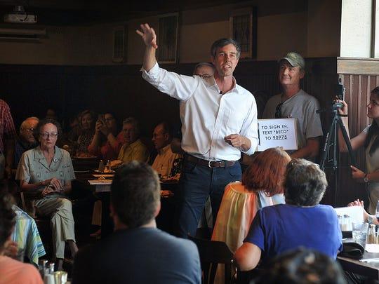 U.S. Congressman Beto O'Rourke, a Democrat from El