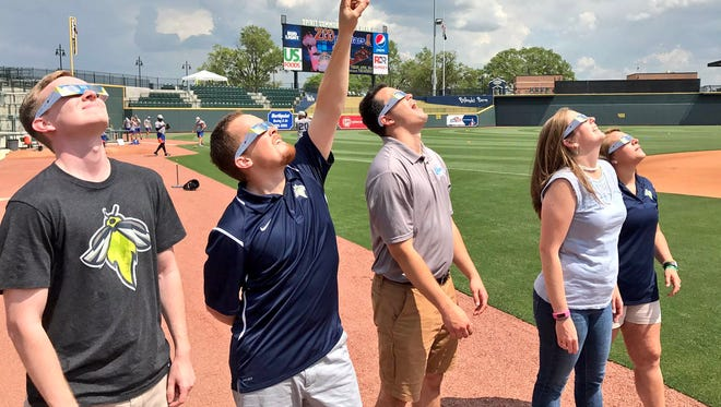 The Columbia Fireflies Minor League Baseball Total Eclipse of the Park game will pause for the eclipse on August 21.