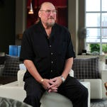 Guitarist Steve Cropper poses at Icon in the Gulch in Nashville, Tenn. October 1, 2015.