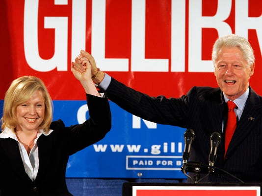 Bill Clinton and Gillibrand
