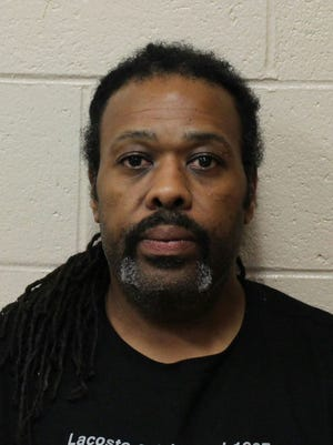 Kenneth Dwight Wilkins, 44, was accused May 12 of trying to strangle his wife over infidelity.