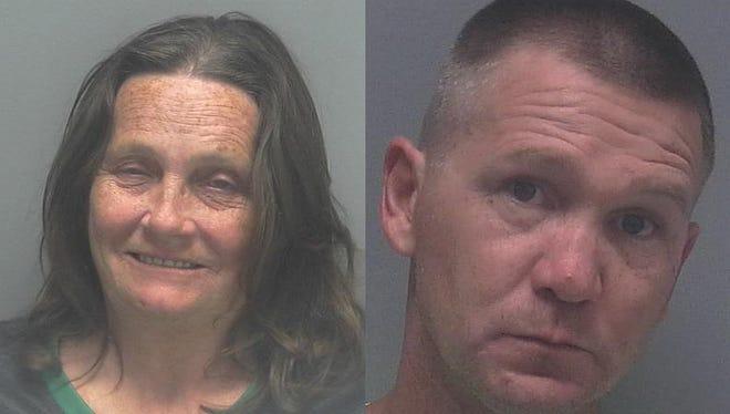 Sandra Moorer (left) and Kevin Moorer