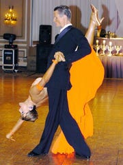 Professional ballroom dancer and instructor Mayo Alanen,