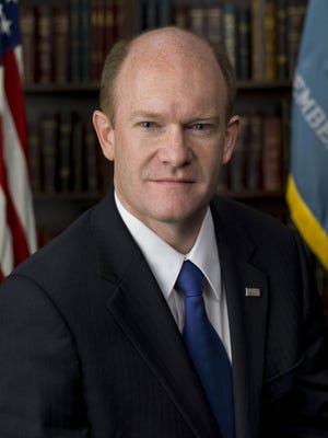 Sen. Chris Coons, D-Del., praised the work of the federal Violence Reduction Network on Wednesday.