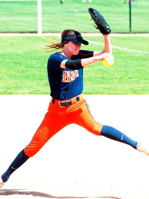 South Lyon East grad Sydney Jones earned first-team All-American pitching honors at Hope College.