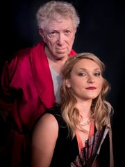 Larry Swartz plays Beaudricourt and Cecily Hendricks