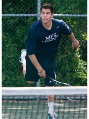 Moorestown Friends School senior Adam Mohsen-Breen