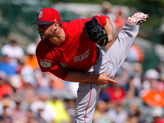 MLB: Spring Training-Boston Red Sox at Baltimore Orioles