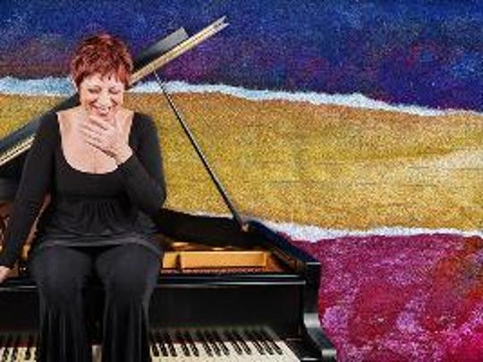 Nancy Kamen will perform improvisational piano at her Shirt Factory studio.