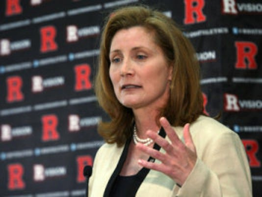 Rutgers AD Julie Hermann wrote an open letter to the Scarlet Knights fan base, thanking them for their support as her program heads to the Big Ten. (Photo by Jason Towlen/MyCentralJersey.com)