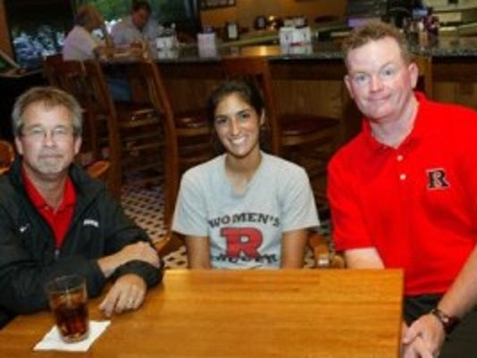Glenn Crooks (left) is turning over the Rutgers women's soccer program to longtime assistant coach Michael O'Neill (right). (File photo)