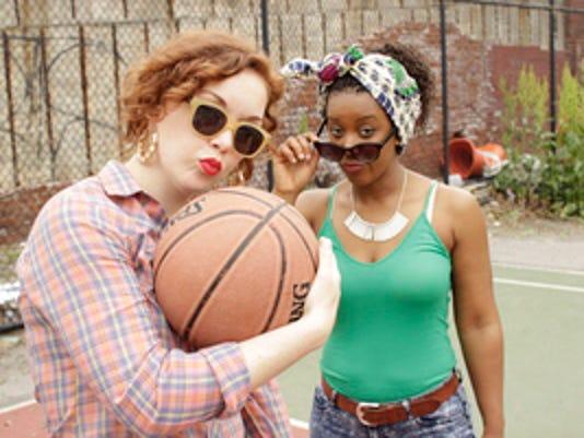 4b5c08ffc50a Rutgers alumna Kristen Adele Calhoun stars with her best friend