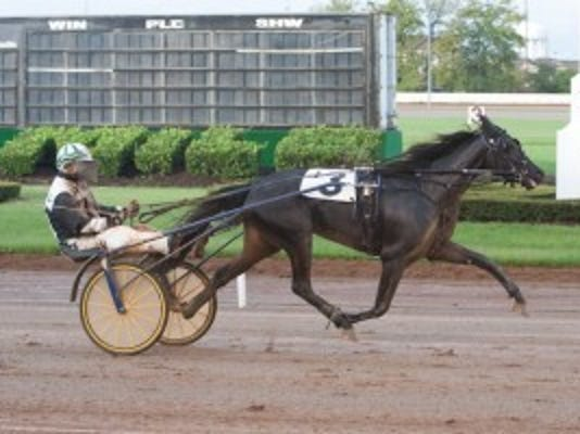Armatrading and driver Randy Jerrell. Photo by Nigel Soult