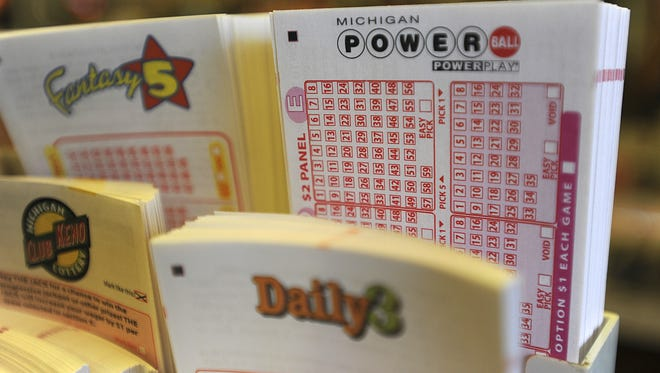Lottery games are seen at a local store in this 2012 State Journal file photo.